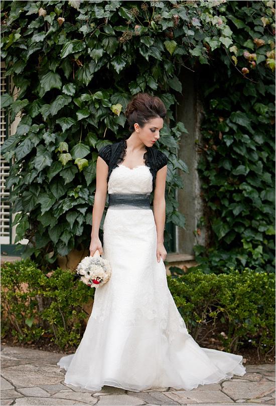 Vestidos de novia detalles negro