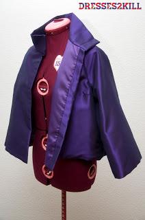 Chaqueta diseñada por Dresses2Kill