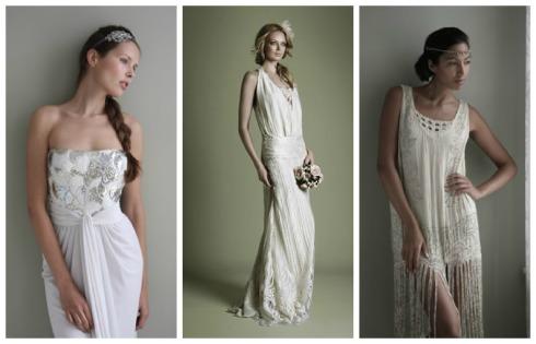 vestidos novia inspiración vintage y de época