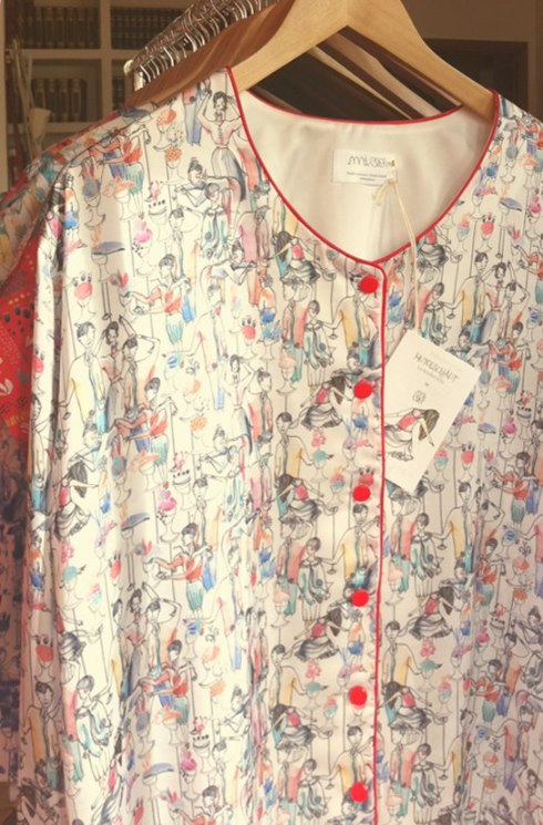 Blusas de seda originales por MiClo