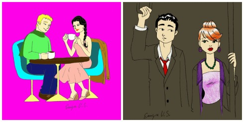 cuentos de boda collage