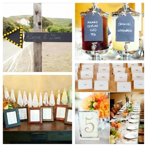 Detalles con personalidad para poner en tu boda  Collage
