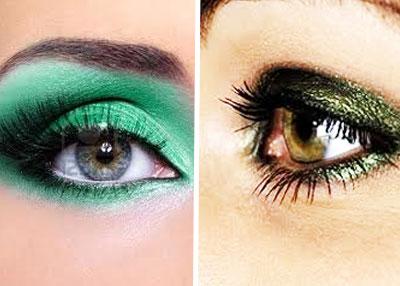 maquillaje-ojos-verde-Sombras-