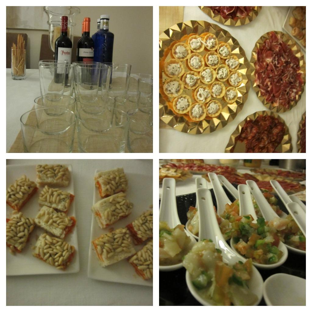 Mesa buffet para fiestas en casa collage envidien mi boda - Casa para fiesta ...