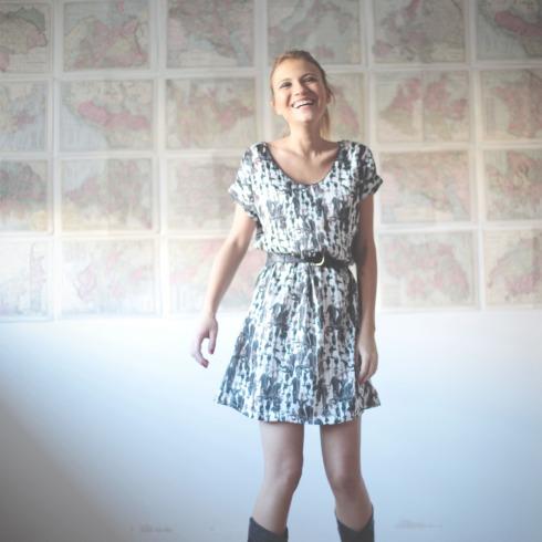 Vestidos de seda-Mi-Clo