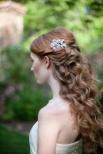 Peinados de novia originales