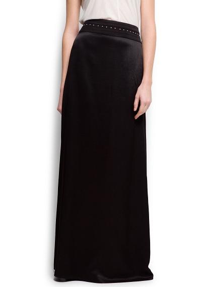 Falda larga Mango  con mucho estilo