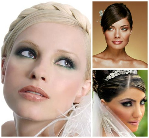 maquillajes de novia Collage