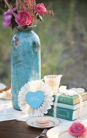 ideas vintage para tu boda