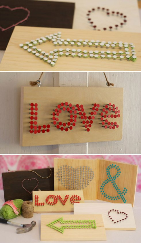 Tutoriales para crear tus propias señales para tu boda