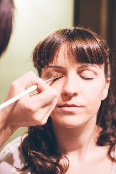 ¿cómo maquillar a una novia?