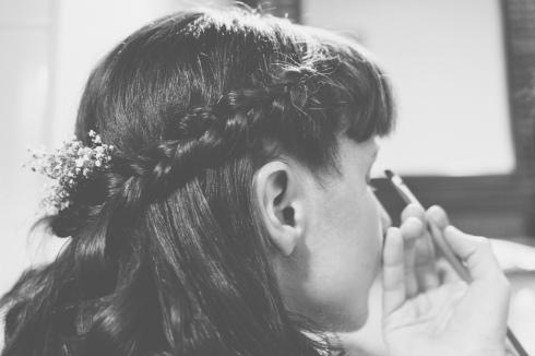 Peinado de novia para bodas rústicas o camperas