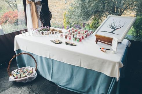 Decoración rústica para bodas por envidienmiboda