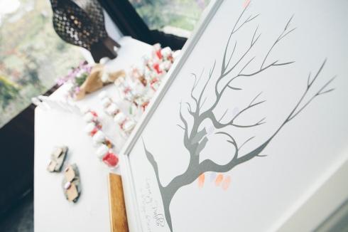 Decoración de mesas de regalos para los invitados