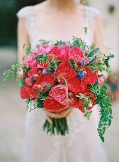Ramos de novia Rojos y Granates4727c8eb1