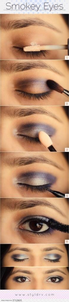 cómo maquillarse los ojos con ahumado