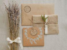 Invitaciones para bodas campestres