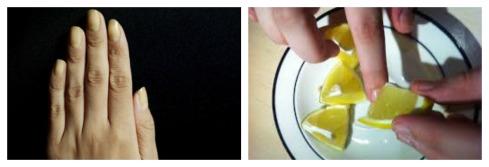 Porque tengo las uñas amarillas Collage
