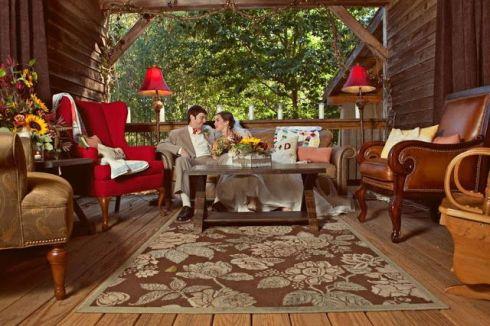 ideas para bodas rúsitcas en otoño