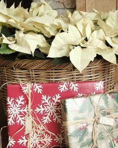 flor de pascua para decorar la navidad 1