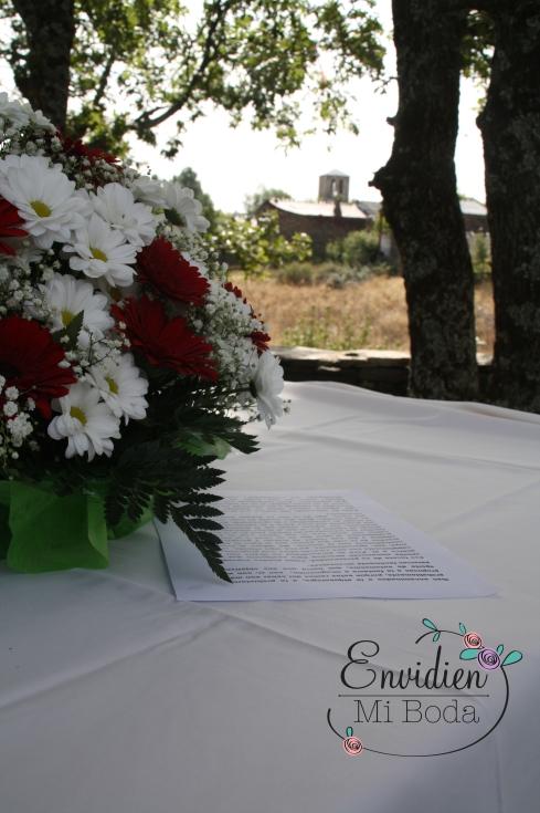 rústica boda