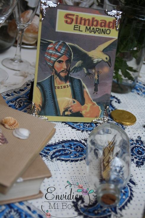 Decoración Boda Simbad el Marino basada en cuentos por envidienmiboda