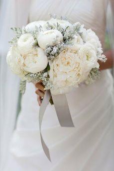 Ramos de novia con flor blanca rústicos, sencillos y elegantes6a4e4dd9e