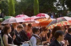 Decoracion con paraguas