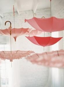 paraguas decoración en bodas
