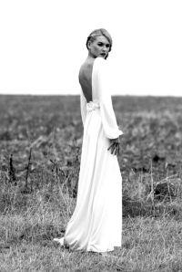 Vestido de novia con mangas largas 4