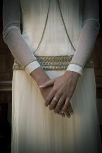 vestido de novia de manga larga 8