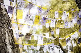 detalles de bodas en amarillo