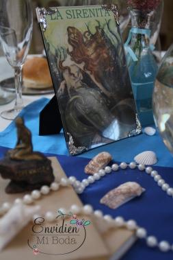Decoracion de boda basada en la sirenita por envidienmiboda