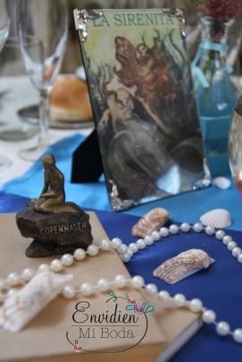 Decoracion de boda con centros de mesa basadas en cuentos por envidienmiboda