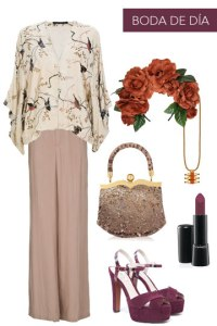 pantalon como look de invitada
