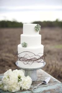 tartas pasteles rústicas y vintage para bodas