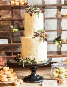 tartas rústicas y vintage para bodas