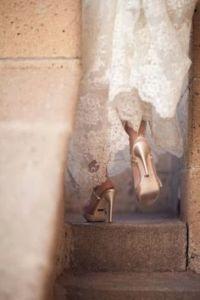 zapatos de novia dorados 3