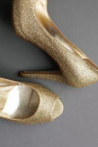 zapatos de novia dorados 7