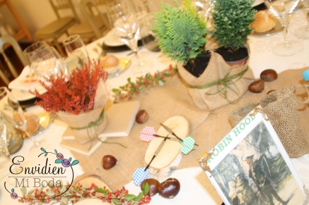 decoración boda de Robin Hood por wedding planners madrid envidienmiboda 2