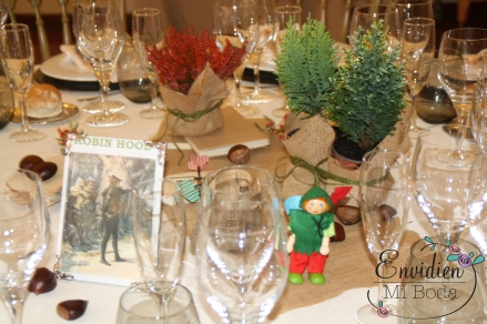decoración boda de Robin Hood por wedding planners madrid envidienmiboda 1