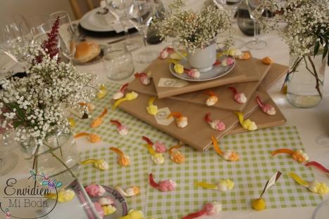 Decoración boda flautista de hamelin