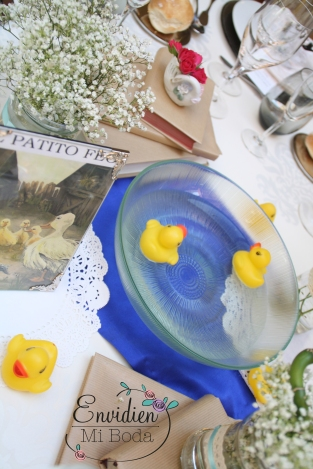 decoración boda de Patito Feo por wedding planners madrid envidienmiboda 3