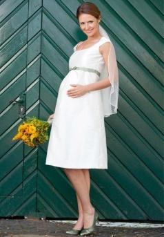 Novias embarazadas bellísimas.