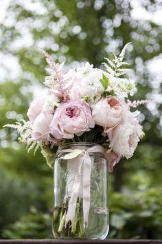 Astilbe ramo de novia ideas para boda