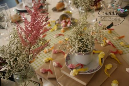 Astilbe en las bodas románticas y vintage