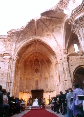 boda en lugares espectaculares monasterio de piedra