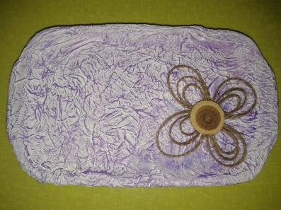 Porta alianzas portaanillos hechos a mano de papel