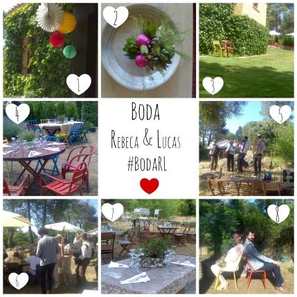 Boda Rebeca & Lucas Collage Resumen por EmB
