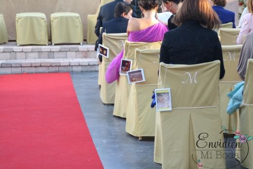 Decoración de boda ceremonia para Lorena & Simón por envidien mi boda madrid Guadarrama